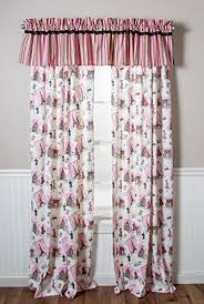 Pink And Purple Curtains Paris Themed Curtains