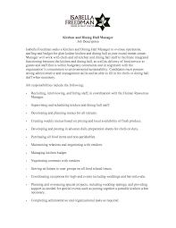 dining room manager job description home planning ideas 2017