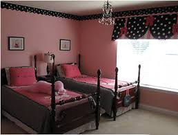 Pink  Black Girls Rooms Design Dazzle - Girls bedroom ideas pink and black