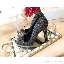 wedding shoes glasgow 2018 luxurious brand designer genuine leather pointed toe