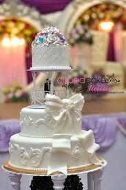 wedding cake medan cuppacake b licious wedding cake
