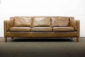 Uk Leather Sofas Scandinavian Design Vintage 3 Seater Brown Leather Sofa Free Uk