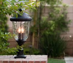 outdoor post light fixtures outdoor post lighting ideas