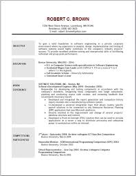 Scholarship In Resume Objectives For Resumes Job Objective Resumes Samples Also How To