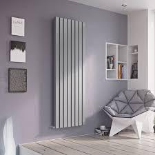 B Q Living Room Design Ximax Vulkan Square Vertical Radiator Silver H 1800 Mm W 435 Mm