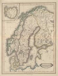 Scandinavia Map Scandinavia Including Sweden Norway U0026 Denmark Iceland