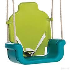siège balançoire bébé wickey siège balançoire pour bébés évolutif 3 jaune