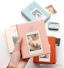 cheap photo album 64 pockets album storage for photo fujifilm instax mini