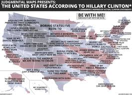 san francisco judgmental map the united states according to clinton by judgmental maps