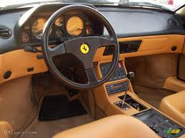 ferrari dashboard 1989 ferrari mondial t cabriolet tan dashboard photo 4677885