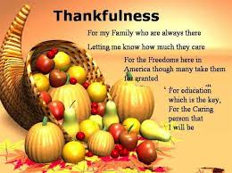 for my family who are always there thanksgiving