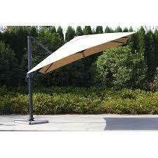 Wind Resistant Patio Umbrella Square Wind Resistant Patio Roma Cantilever Umbrella Wind