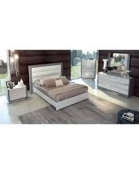 Silver Queen Bed Tis The Season For Savings On Luca Home White Silver Queen