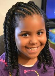 cute black braided hairstyles for kids hairstyle picture magz