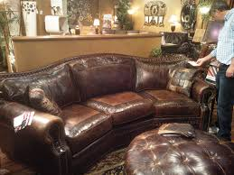 Home Design Center Las Vegas by Omnia Leather Tucson 3 Seat Conversation Couch Saw It At The