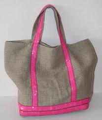 sac cabas lin cabas paillettes u2013 damaliclem créations