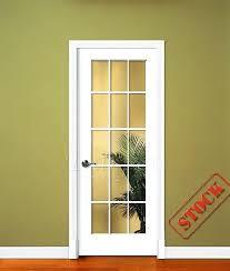 Prehung Glass Interior Doors Clear Glass Interior Door Order Oak Glazed Door Pair With