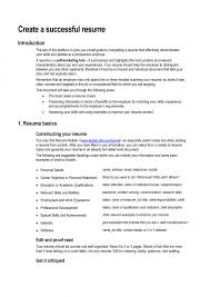 most successful resume templates free samples examples effective