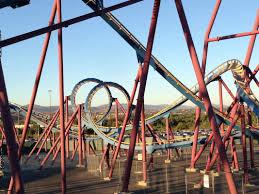Goliath Six Flags Magic Mountain Scream Six Flags Magic Mountain Valencia Ca Http Earth66