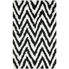 Chevron Shag Rug Best 25 Black Shag Rug Ideas On Pinterest Contemporary Carpet