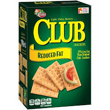 personalized cracker boxes keebler reduced club crackers 11 7 oz box walmart