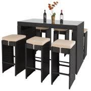 Best Choice Products Pc Rattan Wicker Bar Dining Table Patio - Bar height dining table walmart