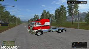kenworth k100 kenworth k100 caboverv 1 0 mod farming simulator 17