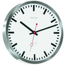 hermle grand central radio controlled wall clock