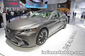 new lexus ls 2017 2018 lexus ls 500 at iaa 2017 indian autos blog