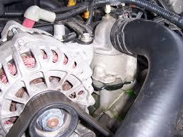 Water Pump Car Leak Coolant Leak On My Buddies 2002 Mustang Ford Mustang Forum