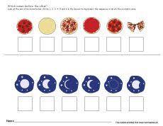 sequencing worksheets kindergarten study pinterest