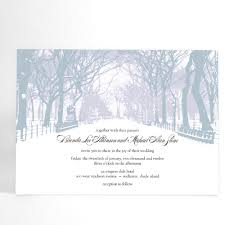 winter themed wedding invitations winter wedding invitations with trees winter by alookoflove