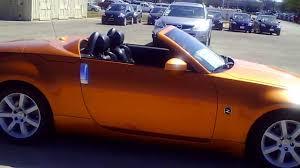 orange nissan 350z 2005 nissan 350z roadster in le mans sunset youtube