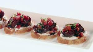 crostini with figs and goat cheese food network