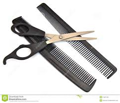 scissors over comb haircut royalty free stock image image 21997336