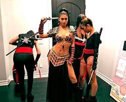 Halloween Costumes Ninjago Kylie Jenner Xena Esque Ninja Halloween