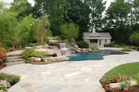 Irregular Stone Patio Natural Pools Irregular Stone Patio Design U0026 Installation