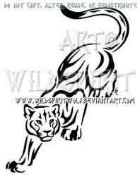 tiger tribal tattoo by debybee u2026 pinteres u2026