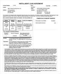 loan agreement template 11 free sample example format