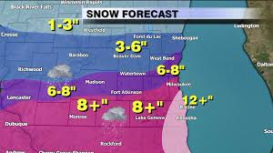Wisconsin Road Conditions Map by Winter Wallop Blizzard Like Conditions Seen Throughout Southeast