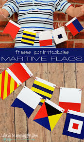 Nautical Code Flags I Should Be Mopping The Floor Free Printable Maritime Flags