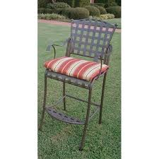 20 X 20 Outdoor Chair Cushions Blazing Needles Outdoor 20 X 17 In Bistro Chair Cushion Set Of