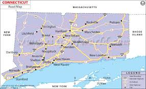 road map connecticut usa connecticut road map connecticut road network in usa