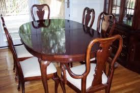 thomasville cherry dining room set 16855