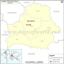 minsk russia maps where is minsk location of minsk in belarus map