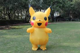 Pikachu Costume Pikachu Costume Elf Cosplay Inflatable Costume For Adults