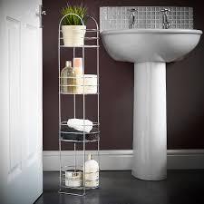 bathroom shelves uk bathroom storage ideas amazon uk awesome vonhaus 4 tier