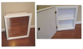 diy recessed medicine cabinet build your own recessed medicine cabinet elegant diy recessed