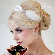 hair fascinator 2013 xcsunny made wedding feather hair fascinator headpieces