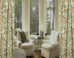 Customized Curtains And Drapes Paisley Curtains Etsy